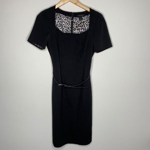 White House Black Market Belted Dress